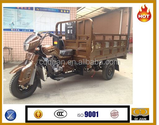 2016 2015 Popular Cheap Hot Sale Gasoline Chinese 150CC 3 Wheel Cargo Tricycle