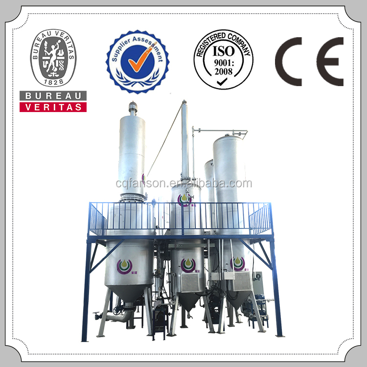 Waste black engine oil recycling to diesel oil refinery machine