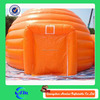 Pumpkin shape outdoor camping bubble tent, inflatable tent waterproof tent fabric