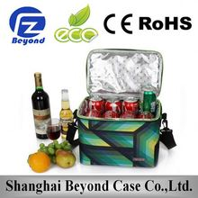 Best Selling wholesale portable thermally insulated pvc cooler bag with pretty floral print