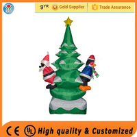 2016 Factory cheap price inflatable christmas ornament christmas outdoor decorations big christmas tree sale