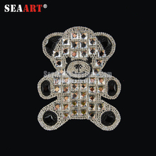 Discount Bling Bling Rhinestone Studs Trim For Wedding Belt To Decorative Leather Clothing