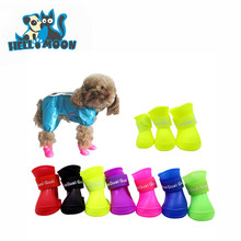 WaterProof Wholesale Dog Rain Shoes Silicone Pet Boots