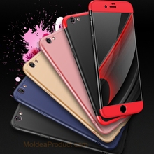 Phone Cover for iPhone X 8 7 6 6S Plus 5 5S SE 3 in 1 Full Body Protection Case 360 Degree Armor Case