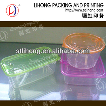Injection Molding safe clear PP Plastic Box Airtight Food Container From Shantou Factory