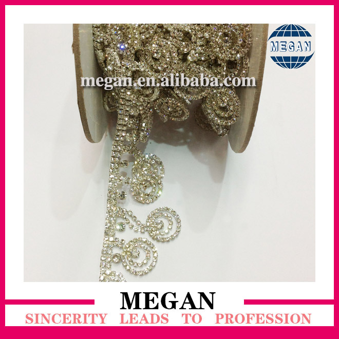 Wedding Favor Diamante rhinestone chain rolls