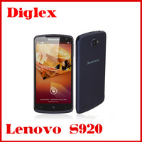Lenovo S920 5.3 inch Android4.2 Quad Core 1.2GHz Dual Sim HD 3G WCDMA best techno mobile phone