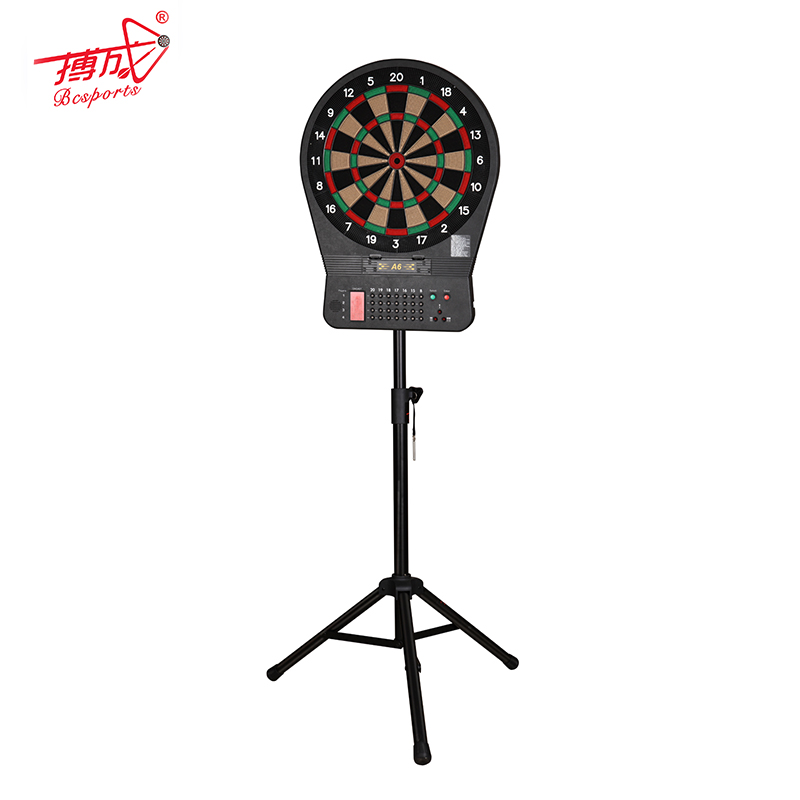 Dart board with dart surround steady dart stand set