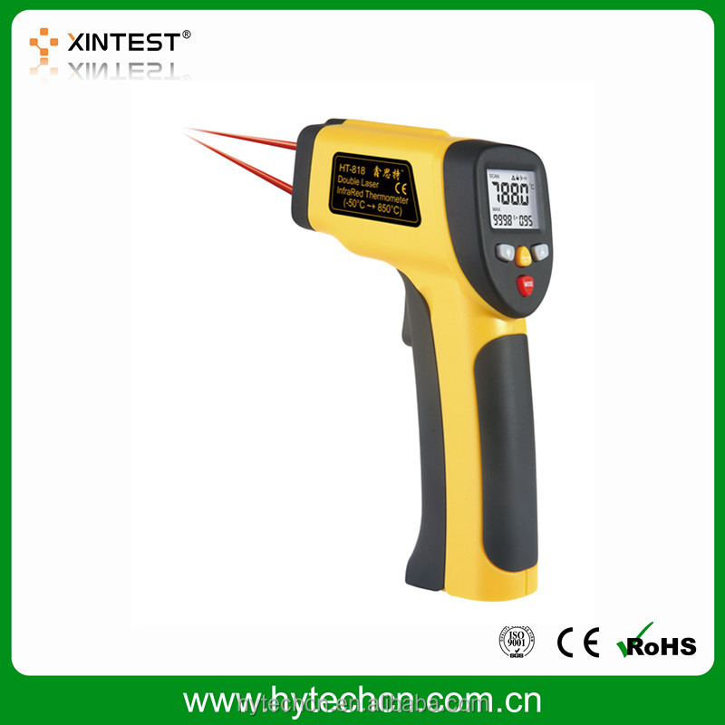 Backlight Dual Laser Infrared Thermometer Temperature Gun for sale