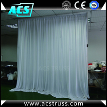 stage curtains adjustable telescopic portable pipe and drape