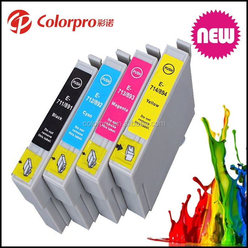 Compatible inks T0711-T0714 for epson Ink Cartridges for Stylus D78 D92 D98 D120