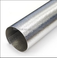 3003 H14 aluminum pipe insulation jacket, aluminum protector or jacket required for pipe insulation