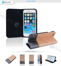 High quality flip magnetic pc cover leather case 5.5 inch free sample mobile phone case custom , case for iphone 6 plus