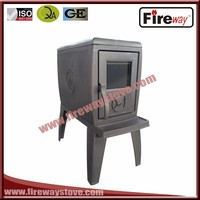 cast iron Fireplaces Type and Freestanding Installation wood burning stove