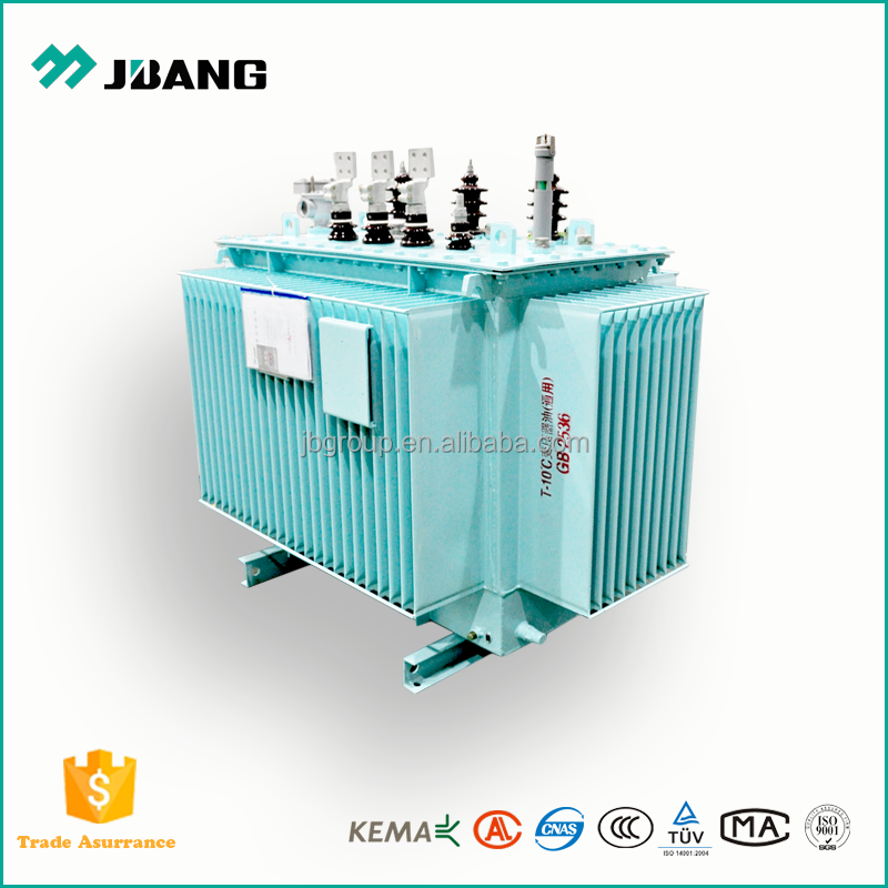 affordable price oil immersed power distribution transformer 1500KVA 11kv to 1000v with customized transformer winding