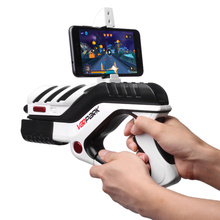 factory attractive design bluetooth vr controller ar game gun cell phone stand holder