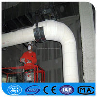 Calcium Silicate Material Natural Gas Pipe Insulation