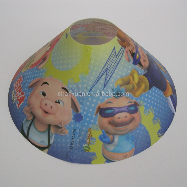 Plastic cone/round PP/PVC lamp screen/ lampshade/chimney/smokebell