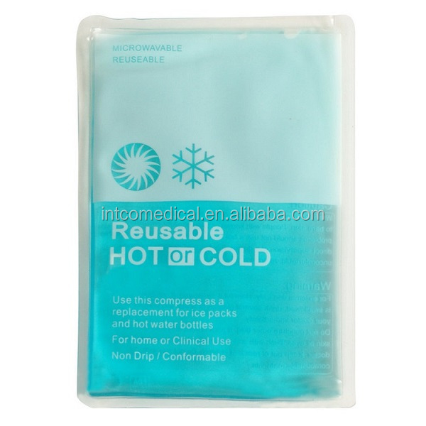 portable reusable hot cold gel pack NYLON AND PVC material
