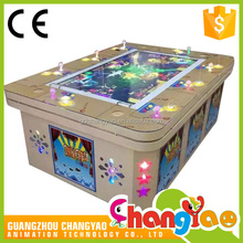 Arcade Machine Game Board Tiger Dragon Outlet Shooting Fish 3D Game Supplier