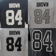 Best Quality Antonio Brown Embroidery Custom Logo Jersey