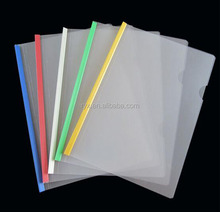 Decorative 4 clear file folder document holder for report 2017