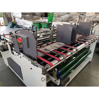 Semi-automatic Box Gluing Machine Both-side Semi-automatic folder gluer machine
