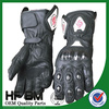 100% genuine goat leather Men Winter Waterproof Motorbike Gloves / High quality motorcycle Leather glove