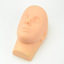 Eyelash Silicone Head Mannequin Practice Training EyeLash Extension Mannequin