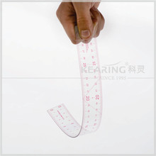 Kearing brand 30cm sandwich line flexible plastic transplant grading garment ruler for stlying design