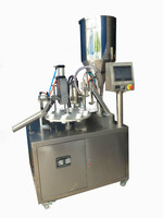 plastic tube filling sealing machine with date coding/tube filling sealing machine with coding