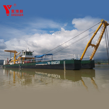 China made hot sale 22 inch cutter suction dredger price