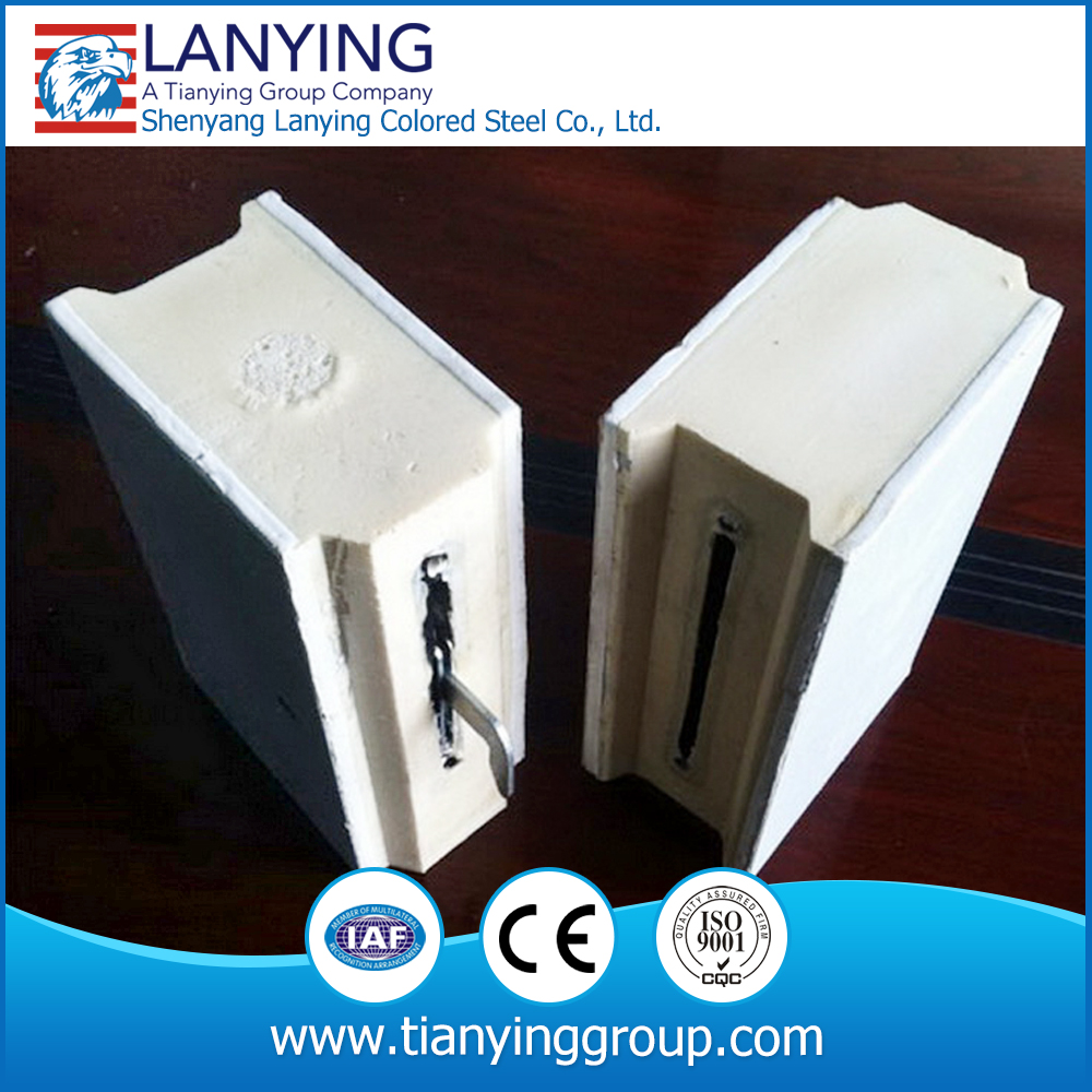 low price PU sandwich panel from factory for small cold storage cam lock cold room panels
