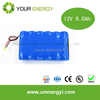 Factory directly supply 10ah 11.1v li-ion type battery pack e-bike battery case