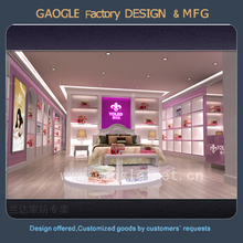 High end customized shop furniture retail bedding displays