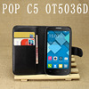 Waterproof phone case covers for alcatel one touch pop c5 OT5036D