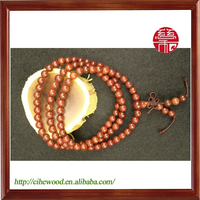6mm Male and Female Indian Lobular Red Sandalwood Bracelets&Bangles&necklace