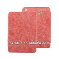 High quality cute pink tablet pu leather case for ipad