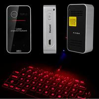 2016 Wireless Bluetooth Laser Virtual Projection keyboard for iPhone for Samsung Mobile Phone For iPad Tablet Laptop