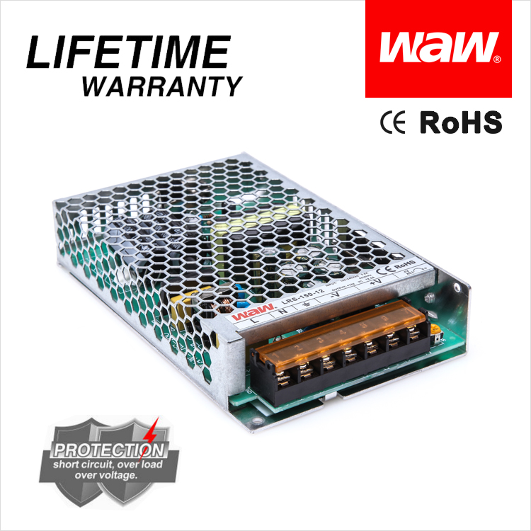 WODE High Efficiency Switching Model Power Supply 12 Volt 5 Amp