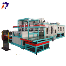 ps foam pizza plate production line high capacity ps foam fast food box making machine
