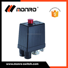 0027 KRQ-2 Zhejiang monro pressure switch wholesales 12A one/four way air pressure switch for air compressor