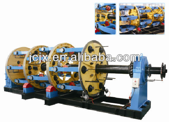 Wire And Cable Machine,2500bobbin Drum Twister