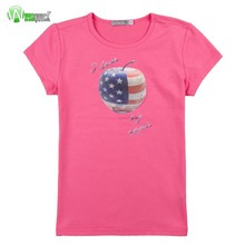 100% Cotton Children's T-shirts,Kids Custom Printed Tshirts Wholesale By Apparel Factory, High Quality Kids 100% Cotton