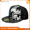 Wholesale alibaba cheap custom 6 panel print snapback hats