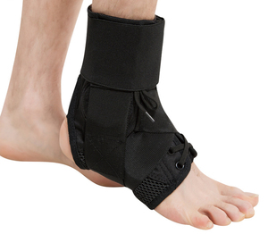 Chinese Supplier Right Elasticated Ankle Immobilizer Brace Support
