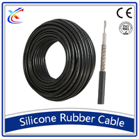 waterproof China braiding wire 95mm copper 6mm flexible silicone high temperature cable