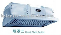 Restaurant Cooker Hood With Oil & Fume Collecting Device