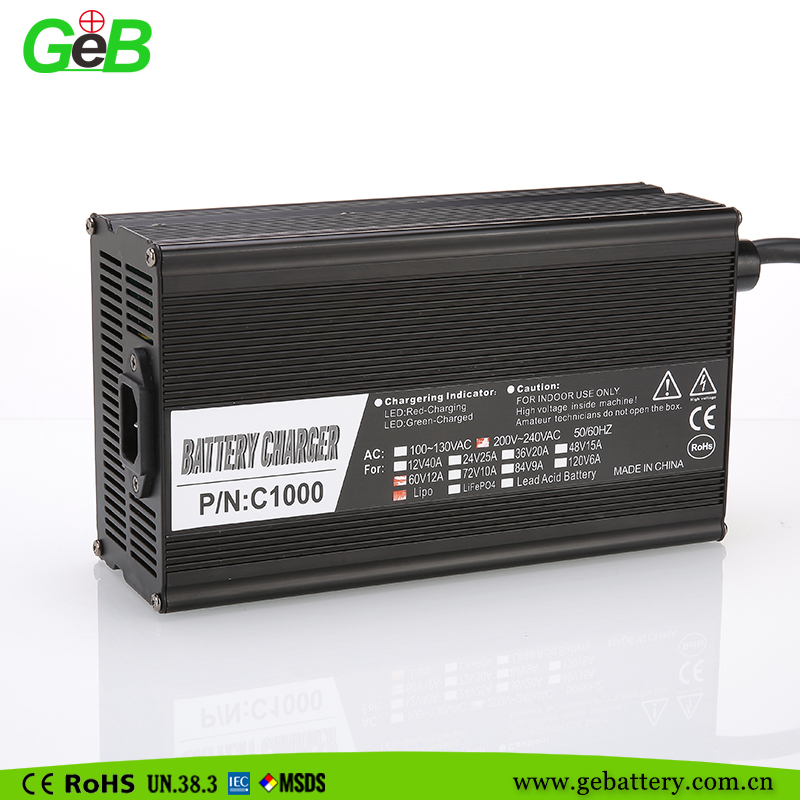 China Suppliers 12v waterproof battery charger, electric bicycle, electric scooter battery charger 60v