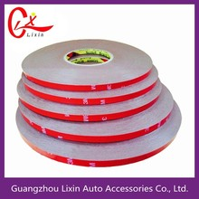 pe remove colorful heat resistant double sided acrylic foam tape 3m
